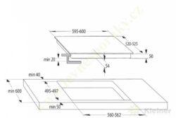 MORA VDIT 651 FF PREMIUM - indukční vestavná varná deska samostatná(VDIT651FF)