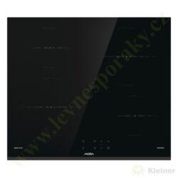 MORA VDIT 65 FF - indukční vestavná varná deska samostatná-Indukční sklokeramická vestavná deska samostatná přední strana zkosená, ostatní broušené hrany, šířka 60 cm