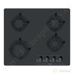 MORA VDP 645 GB3 - deska plynová, 4 hořáky, ČERNÉ SKLO-Plynová vestavná skleněná deska