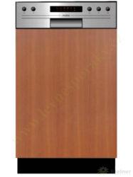 MORA VM 533 X PREMIUM - myčka vestavná 45 cm, nerez panel A++, A, A-Vestavná myčka s nerez panelem o šířce 45 cm, A++, A, A