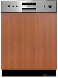 MORA VM 633 X - myčka vestavná 60 cm, nerez panel A++, A, A-Vestavná myčka s nerez panelem o šířce 60 cm, A++, A, A