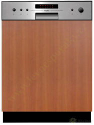 MORA VM 633 X PREMIUM - myčka vestavná 60 cm, nerez panel A++, A, A-Vestavná myčka s nerez panelem o šířce 60 cm, A++, A, A